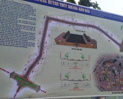 Chi 350 tỷ đồng xây dựng con đường Huỳnh Thúc Kháng kéo dài