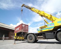 The Ministry of Transport announced the opening of a large-scale dry port in Long Bien
