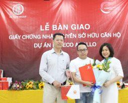 (Tiếng Việt) CHỦ ĐẦU TƯ HATECO TRAO GIẤY CHỨNG NHẬN QUYỀN SỞ HỮU CĂN HỘ CHO CƯ DÂN HATECO APOLLO