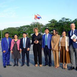 Đón tiếp đại sứ Hà Lan đến thăm quan Tập đoàn Hateco