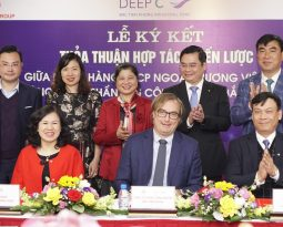 BAC TIEN PHONG Industrial Park JSC SIGNED A COOPERATION AGREEMENT WITH VIETCOMBANK