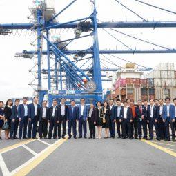 (Tiếng Việt) Hateco Group khảo sát bến số 5, 6 khu bến cảng Lạch Huyện- Hải Phòng