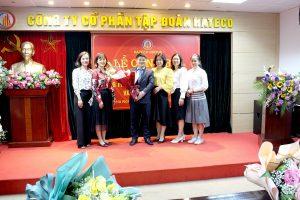 (Tiếng Việt) Trao quyết định bổ nhiệm Tổng Giám đốc mới tại Tập đoàn Hateco